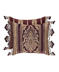 J Queen Amethyst Boudoir Decorative Pillow