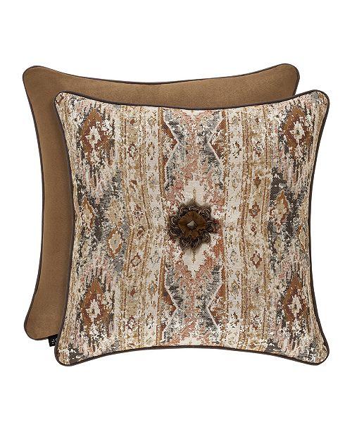 "J Queen New York J Queen Brave Front 20"" Square Decorative Pillow"
