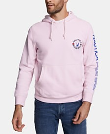 Nautica Men's Blue Sail Fleece Hoodie, Created for Macy's