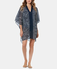 Miraclesuit Lush Life Caftan Cover-Up