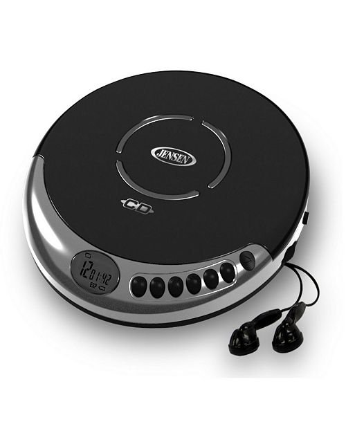 Jensen Personal CD Player with Bass Boost