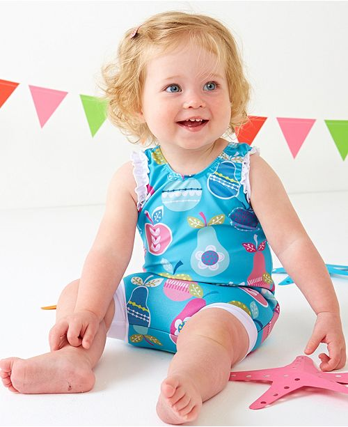 5fe4df2c9c Splash About Girl's Happy Nappy Swim Diaper Swimsuit & Reviews - All ...
