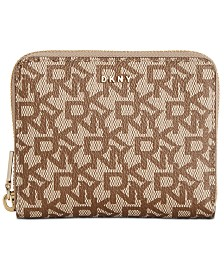 DKNY Bryant Logo Zip Around Wallet, Created for Macy's