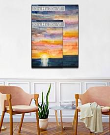 'Beautiful Sunset' Canvas Wall Art Collection