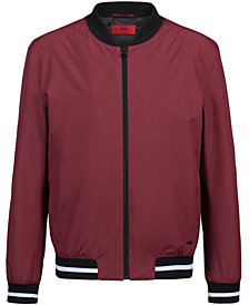 HUGO Men's Slim-Fit Bomber Jacket