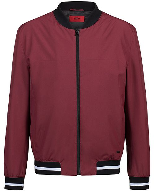 Beroemd Hugo Boss HUGO Men's Slim-Fit Bomber Jacket & Reviews - Coats @XX16