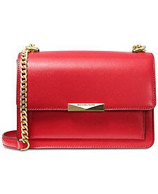 Jade Leather Shoulder Bag