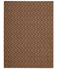 "Calvin Klein Home Area Rug, CK11 Loom Select Neutrals LS16 Pasture Fawn 7'9"" x 10'10"""