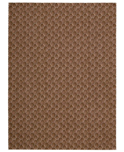 "Calvin Klein Home Area Rug, CK11 Loom Select Neutrals LS16 Pasture Fawn 2'3"" x 7'5"" Runner Rug"