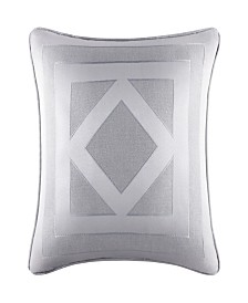 """Five Queens Court Kennedy 20"""" Square Pillow"""