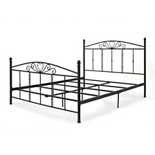 Cast Iron Queen Bed, Quick Ship