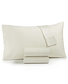 CLOSEOUT! Sleep Cool 3-Pc Twin XL Sheet Set, 400-Thread Count Egyptian Hygro Cotton, Created for Macy's