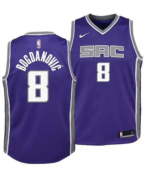 brand new bf96d a6554 Bogdan Bogdanovic Sacramento Kings Icon Swingman Jersey, Big Boys (8-20)