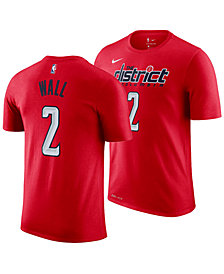 Nike Men's John Wall Washington Wizards Earned Edition Player T-Shirt