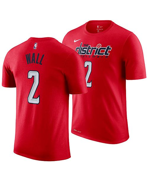 a3dc9884f Nike Men s John Wall Washington Wizards Earned Edition Player T ...