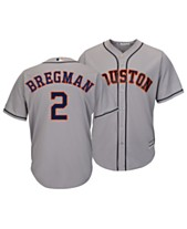 94a1738a3 Majestic Men s Alex Bregman Houston Astros Player Replica Cool Base Jersey