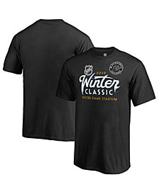 Majestic Men's Chicago Blackhawks 2019 Winter Classic Ice Wordmark T-Shirt