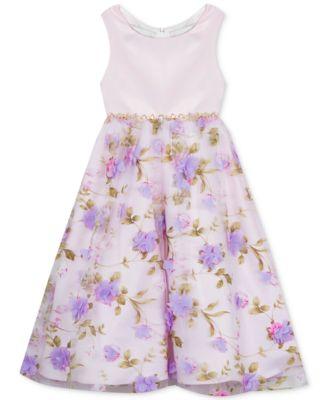 Little Girls Floral-Print Dress