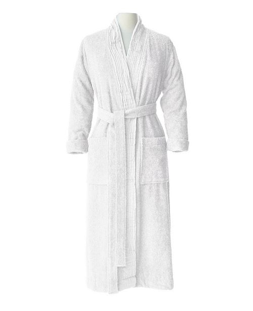 20e51d1745 IGH Global Corporation 100% Turkish Cotton Pleated Robe - Macy s