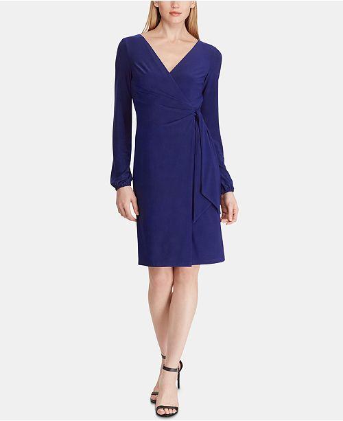 Lauren Ralph Lauren Belted Dress