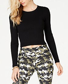 MICHAEL Michael Kors Cropped Sweater