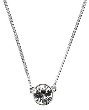 "Givenchy 16"" Necklace, Swarovski Element Pendant"