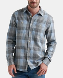 Lucky Brand Men's Mason Workwear Plaid Shirt