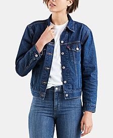 Levi's® Women's Ex-Boyfriend Cotton Denim Trucker Jacket