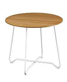 Holly and Martin Kacheri Round Scandinavian Style End Table