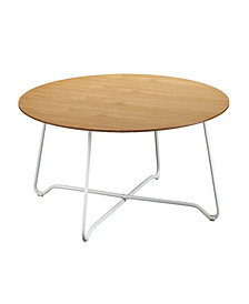 Holly and Martin Kacheri Round Scandinavian Style Coffee Table