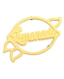 Martha Stewart Collection Lemonade Trivet, Created for Macy's