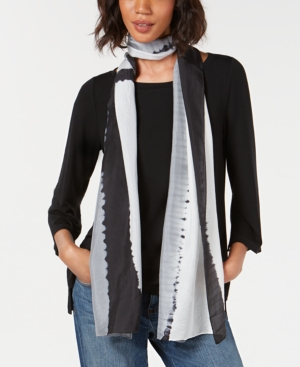 Eileen Fisher Accessories SILK STRIPED SCARF