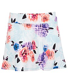 Big Girls Floral-Print Skort, Created for Macy's