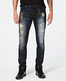 Reason Men's Hardigo Dark Ripped Jeans