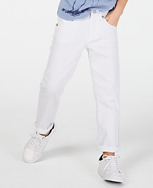Epic Threads Little Boys White Denim Jeans, Created for Macy's