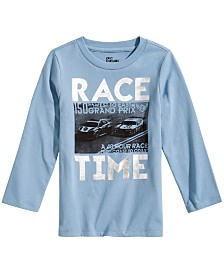 Epic Threads Little Boys Race Time Graphic T-Shirt, Created for Macy's