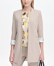 Calvin Klein Roll-Tab Topper Jacket