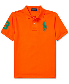 Polo Ralph Lauren Big Boys Embroidered Cotton Polo