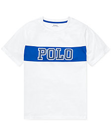 Polo Ralph Lauren Big Boys Logo Graphic Cotton T-Shirt