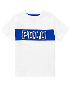 Polo Ralph Lauren Toddler Boys Logo Graphic Cotton T-Shirt