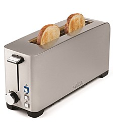 Space Saving Long Slot Toaster