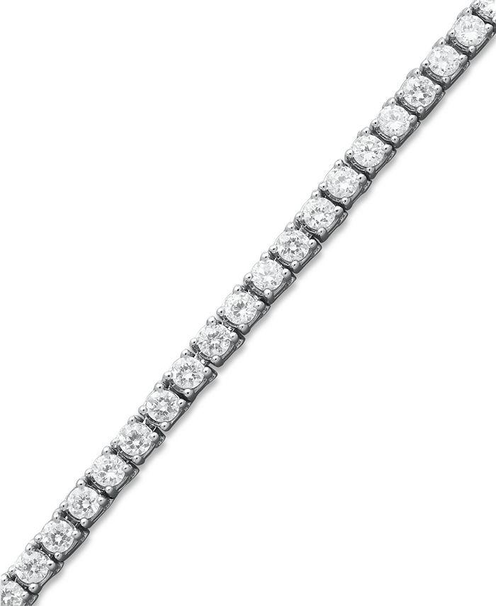 Macy's - Diamond Tennis Bracelet in 14k White Gold (6 ct. t.w.)