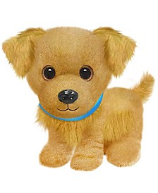 First and Main - Wuffles Golden Retriever  Plush Dog, 7 Inches Sitting