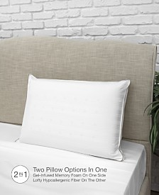 IdeaLOFT Memory Foam & Fiber Gusseted Bed Pillow