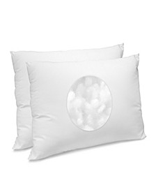 CoolMAX Jumbo Pillow 2 Pack, 400 Thread Count Cotton Blend
