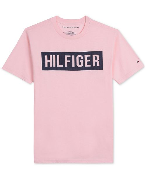 55ef33b391bb Tommy Hilfiger Little Boys Logo Graphic T-Shirt   Reviews - Shirts ...