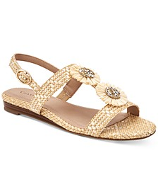 Zoeyy Flat Sandals, Created for Macy's