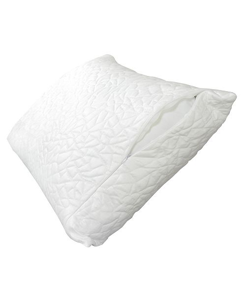 Protect-A-Bed Queen Therm-A-Sleep Snow Waterproof Pillow Protector ft. Nordic Chill Fiber and Tencel