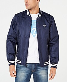 Men's Water Resistant Bomber Jacket