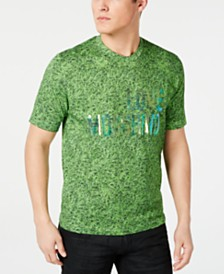 Love Moschino Men's Grass Logo Graphic T-Shirt
